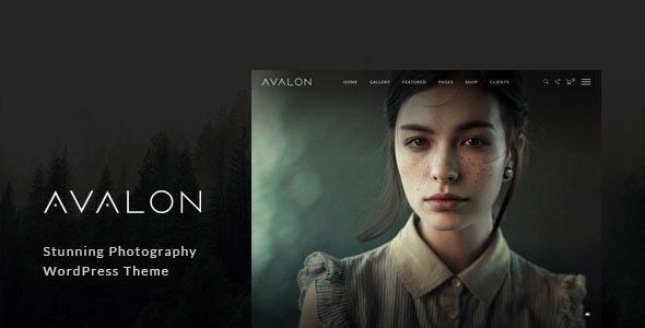 Avalon - Photography and Portfolio WordPress Theme for Photographers - Photography Creative