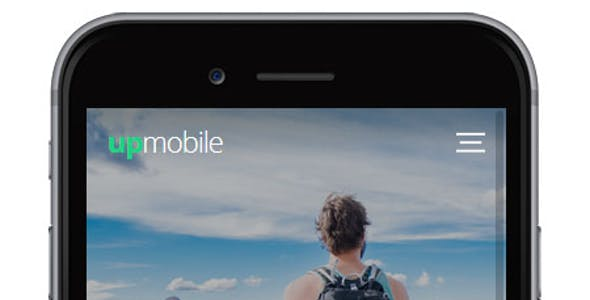 UpMobile HTML Mobile Template