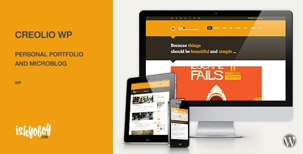 Creolio WP - Personal portfolio and microblog - Portfolio Creative