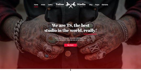 Tattoo - Tattoo Studio HTML Template