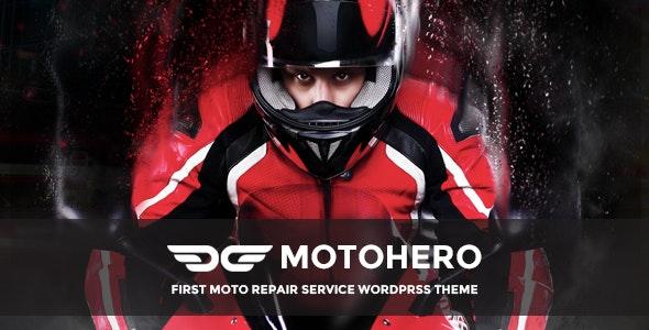 MotoHero | Motorcycle Repair & Custom service Business Wordpress Theme - Business Corporate