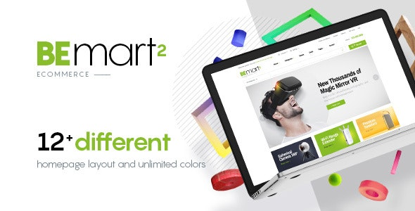 Bemart - WooCommerce Multipurpose WordPress Theme - Retail WordPress