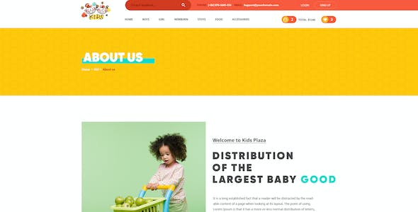 Kids - Lovely design for Baby Fashion and Stores