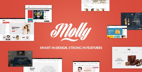 Molly - Multipurpose Responsive Shopify Themes - Shopify eCommerce