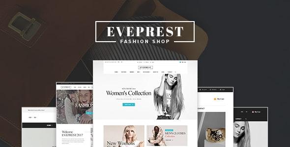 Eveprest - Fashion Shop WooCommerce WordPress Theme - WooCommerce eCommerce