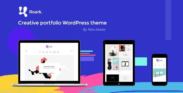 Roark - Minimal Portfolio WordPress Theme - Portfolio Creative