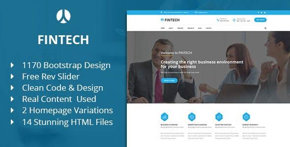Fintech - Business, Finance & Corporate HTML Template