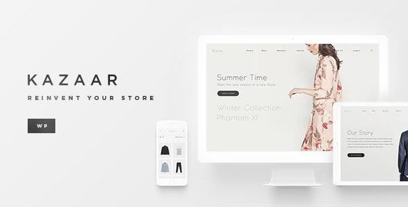 Kazaar - Aesthetic WooCommerce Theme - WooCommerce eCommerce