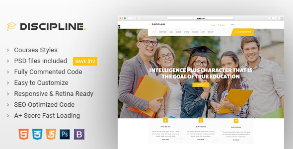 Education Html Template - Site Templates