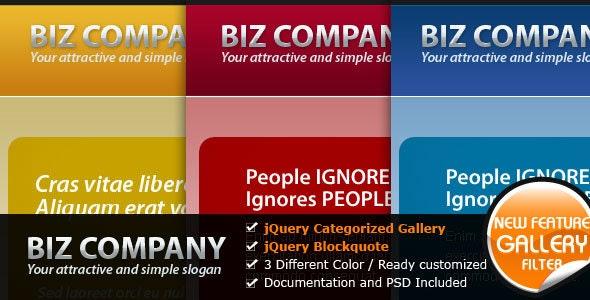 Biz Company - The Elegant Business Website - Business Corporate