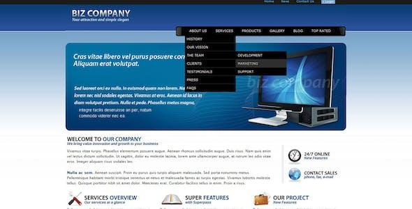Biz Company - The Elegant Business Website