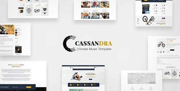 Cassandra - Ultimate Commerce - eCommerce Muse Templates