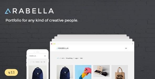 Arabella - Minimal Portfolio Theme - Portfolio Creative