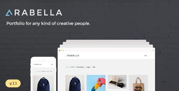 Arabella - Minimal Portfolio Theme