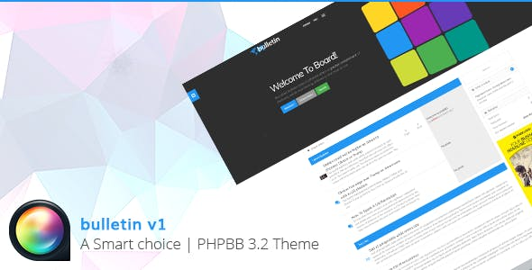 Download Bulletin - Multipurpose Responsive phpBB 3.2 Theme