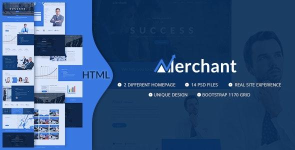 Merchant - Business, Finance & Corporate HTML5 Template - Business Corporate