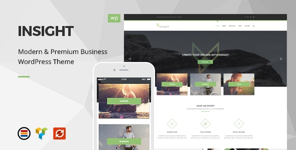 Insight - Premium Business WordPress Theme - Business Corporate