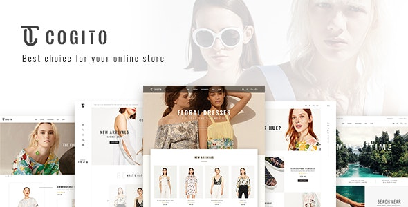 Cogito - PSD Ecommerce Template - Fashion Retail