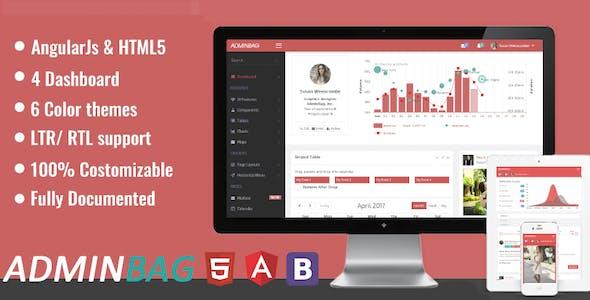 Admin bag - Admin Responsive Template &  Dashboard