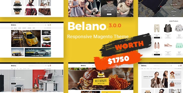 Belano - Fastest & Most Customizable Magento 2 Theme by CleverSoft