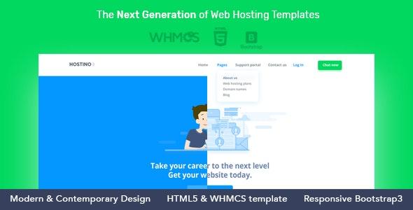 Hostino WHMCS Web Hosting Template - Hosting Technology