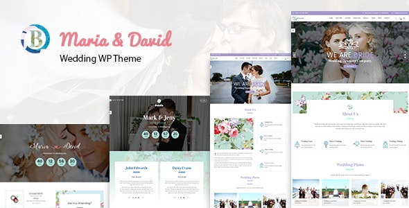 Bride - Wedding WordPress Theme - Wedding WordPress