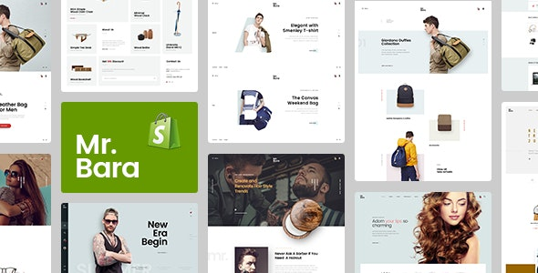 Mr.Bara – Responsive Ecommerce Shopify Template - Shopify eCommerce