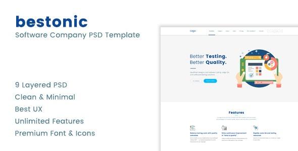 Bestonic PSD Template - Software Technology