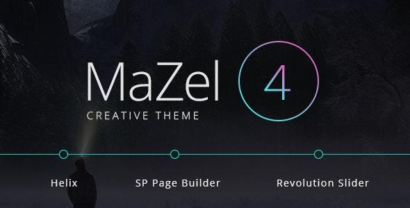 Mazel4 - Creative Multi-Purpose Joomla Theme - Corporate Joomla
