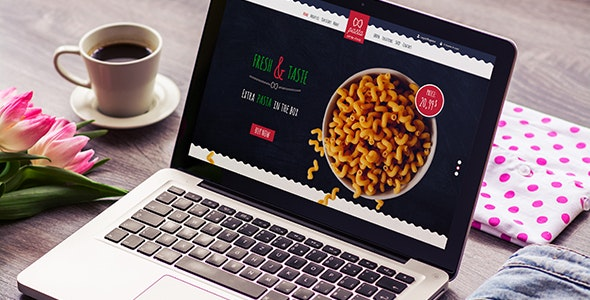 Pasta - Food Order Responsive & Mobile HTML Template - Food Retail