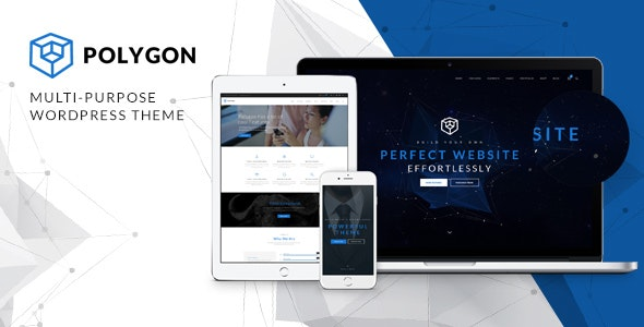 Polygon - Business Corporation  Agency WP Theme - Business Corporate