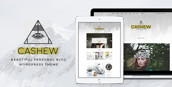Cashew - A Personal Blog WordPress Theme - Personal Blog / Magazine