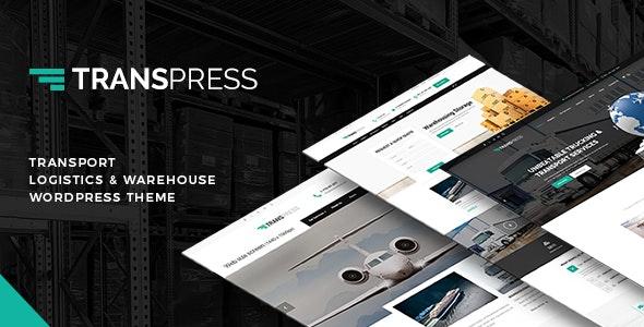 Transpress – Transport, Logistics and Warehouse WordPress Theme - Business Corporate