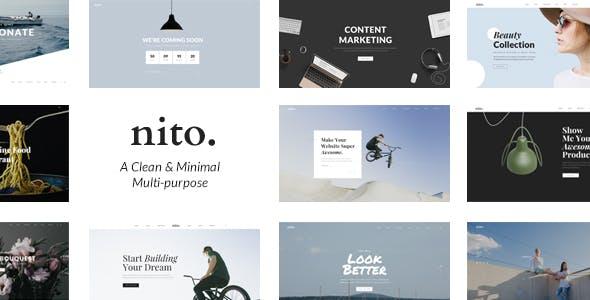 Nito - A Clean & Minimal Multi-purpose WordPress Theme