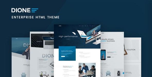 Dione - Enterprise HTML Template - Business Corporate