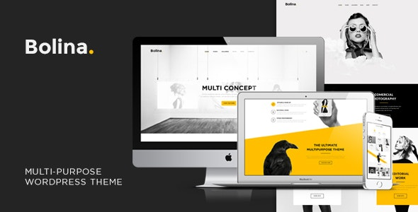 Bolina - Trendy & Stylist WordPress Theme - Creative WordPress