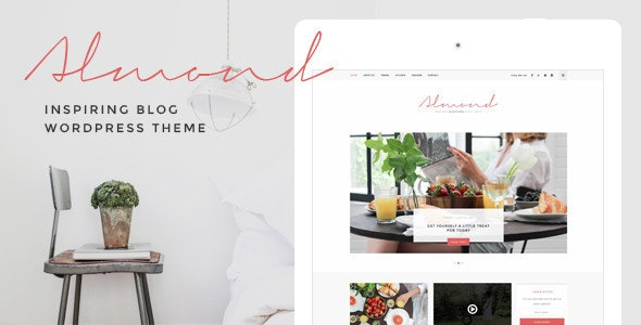 Almond - Inspiring Blog WordPress Theme - Personal Blog / Magazine