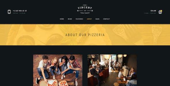 Restaurant Vincent PSD