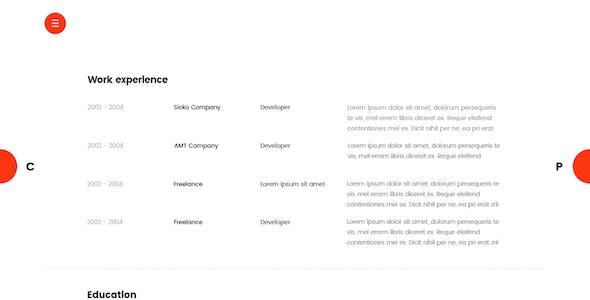 Lofty - CV / Resume Template