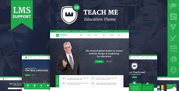 TeachMe – WordPress Theme for Schools - Education WordPress