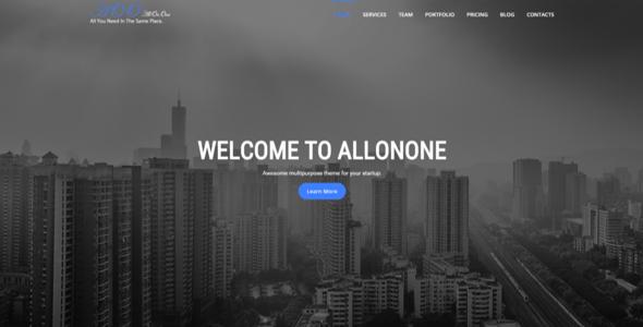 All On One | Multi-purpose One Page Html5 Template - Portfolio Creative