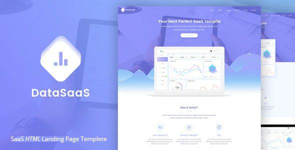 Datasaas Apps Landing template