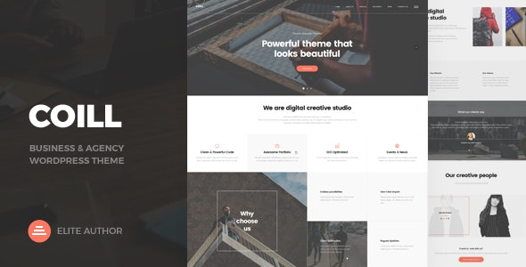 Coill | Business & Agency WordPress Theme - Business Corporate