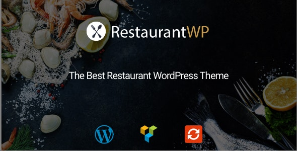 Restaurant WordPress Theme - Restaurants & Cafes Entertainment