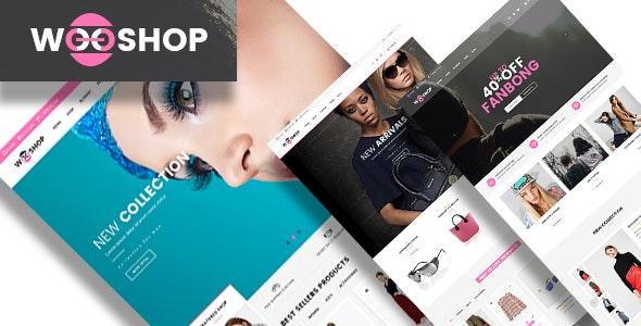 Wooshop   PSD Template - Retail Photoshop