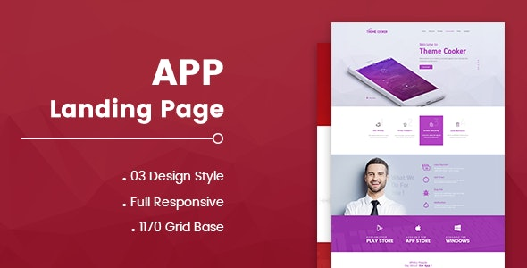 App Landing Pager - 2 - Software Technology