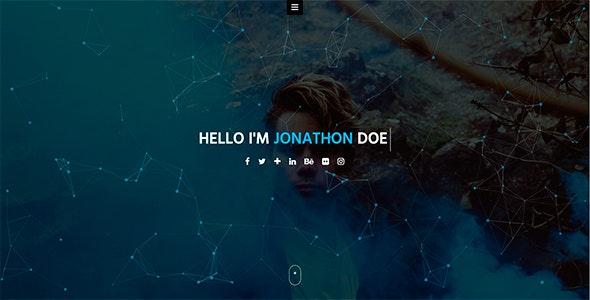 Jorel - Personal Portfolio / vCard / CV / Resume Template - Portfolio Creative