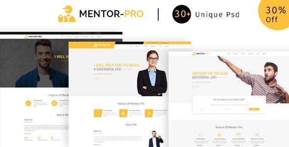 Mentor-pro   Ultimate  PSD Template - Business Corporate