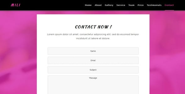 Spa HTML5 HTML Website Templates from ThemeForest