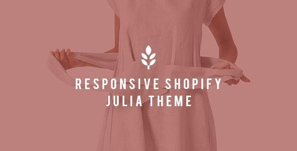 Julia - Shopify Responsive Drag and Drop Theme - Miscellaneous Shopify